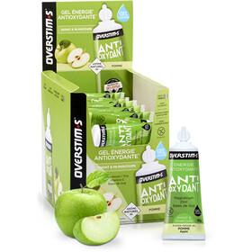 OVERSTIM.s Antioxydant Żele energetyczne - opakowanie 36x30g, Apple